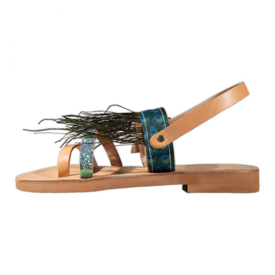 Peacock Sandals